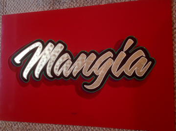Mangia Lettering